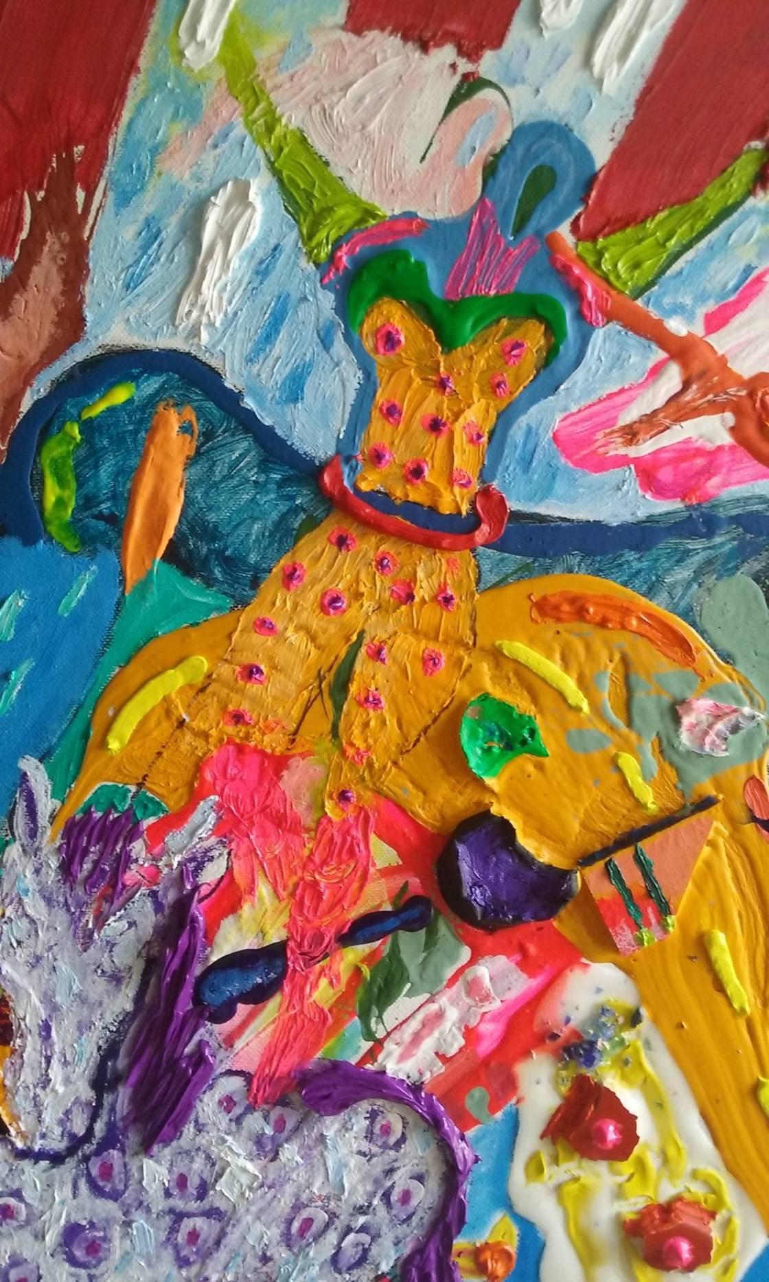 circus princess detail